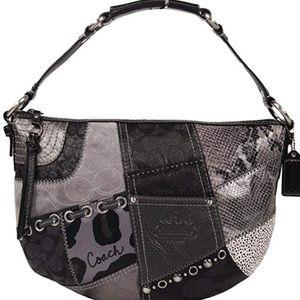 Coach Patchwork Soho Hobo Bag Handbag Purse